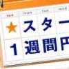 東京スター銀行の1週間定期は10万4286円か12万5143円で預けよう