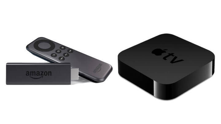 Fire TV Stickと第3世代Apple TV