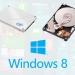 Windows 8インストール後にIDEモードからAHCIモードに変更するには