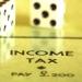 グラフで見る所得税(税額と実際の所得税率) Ver.2 最高税率45%対応版